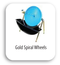 Gold Spiral Wheels